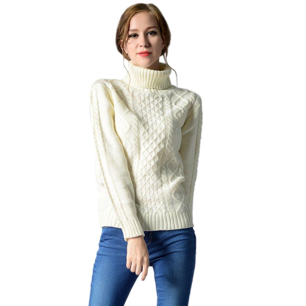 Moda Donna felpa Maglia Maniche Casual Lunghe Invernale Maglione CWrdxeoQB