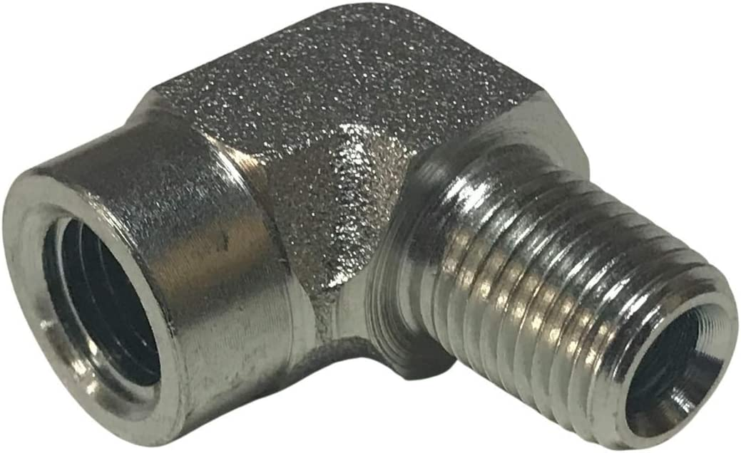 90 Degree Elbows Snow Plow Hydraulic Elbow Fittings Replacement for Western 92210 Fisher 2780
