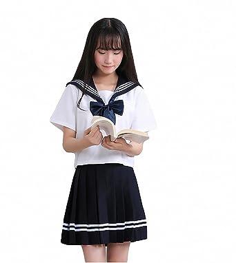 mewow womens high school girls student uniform cosplay halloween costume fancy dress