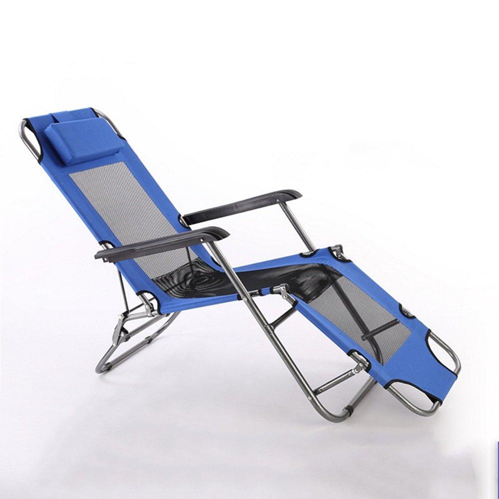 YuFLangel Klappsessel Klappsessel Klappsessel Einzelbett Couch im Büro Outdoor Strandstuhl