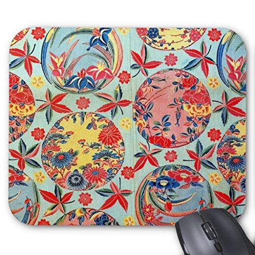 Zazzle Vintage Japanese Kimono Textile (bingata) Mouse Pad