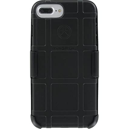 reputable site 18ed5 97df4 Magpul Industries Field Case Compatible with Apple iPhone 7 Plus, 6 Plus &  6s Plus with Custom Modified Camera Hole by EGO Tactical (Black Case ...