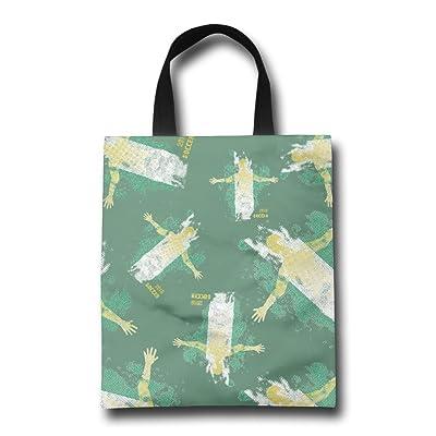 FTF BAG Nigeria See You 2018 Soccer Women Reusable Shopping Bag Cute Portable Gym