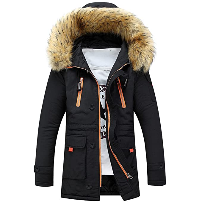AKIMPE Unisex Women Men Outdoor Fur Wool Fieece Warm Winter ...