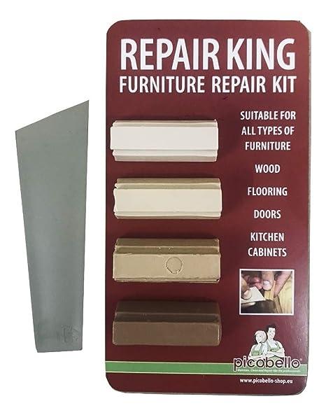 1 X Laminate Floor Worktop Furniture Repair Kit L For Beech Light