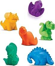 Roma Jensen Brinquedo para Bebe Coleção Dinos Banho Caixa com 06 Roma 8.5cm