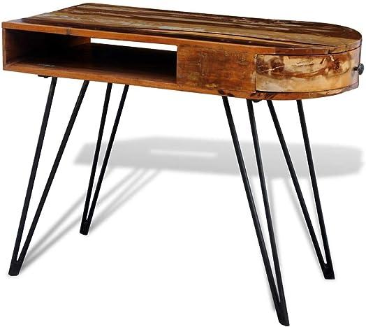 Cheap vidaXL Solid Wood Reclaimed Desk home office desk for sale