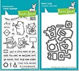 Lawn Fawn - Critter Concert - Stamp and Die Set - 2 Item Bundle