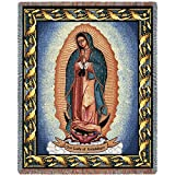 Pure Country Weavers ''Our Lady of Guadalupe Blanket'' Tapestry Throw