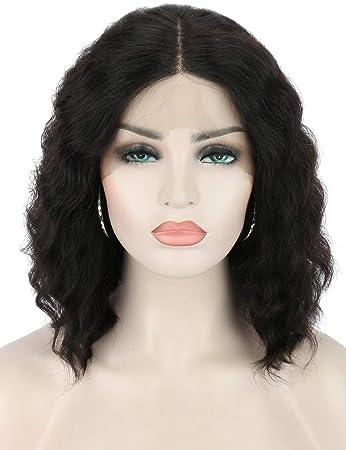 Amazon.com: Beauart - Peluca de pelo humano 100% brasileño ...