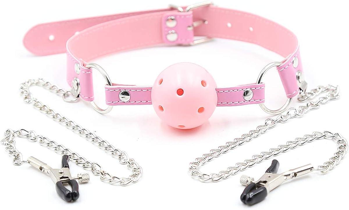 Pink ball choker