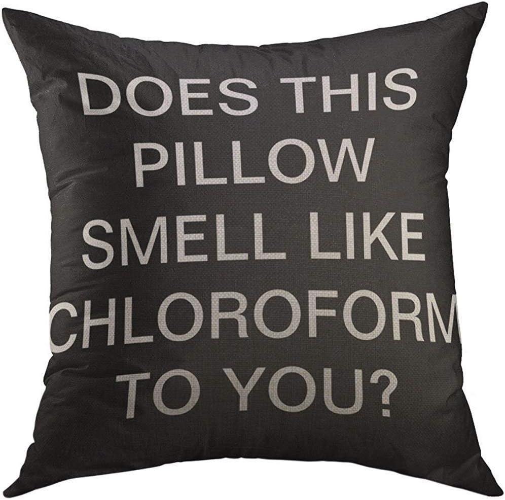 Humor Decor Throw Pillow Cushion Cover