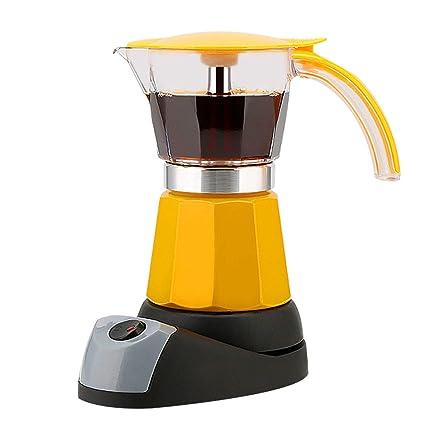 Amazon.com: CUKYI Cafetera eléctrica para café expreso Moka ...