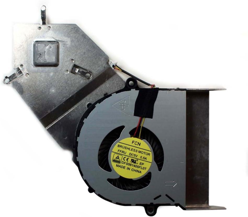 Power4Laptops Replacement Laptop Fan with Heatsink for Acer Aspire E5-411, Acer Aspire E5-411G-P717, Acer Aspire V3-472G