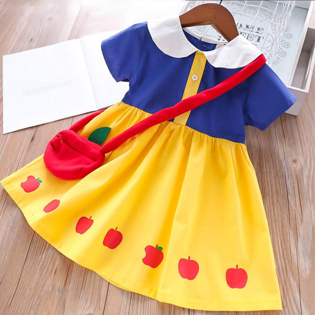 027dc3c41767 Amandaz Fairy Tales Dress Baby Girls Snow White Skirt Princess Dress ...
