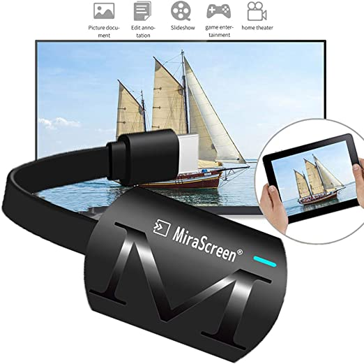 MMYJ WiFi Dongle Inalámbrico Receptor De Pantalla 1080P HDMI ...