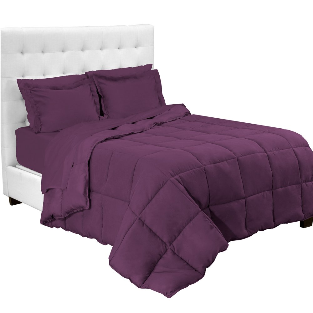 5-Piece Bed-In-A-Bag - Twin XL Extra Long (Lavender) TwinXL.com 642872312807