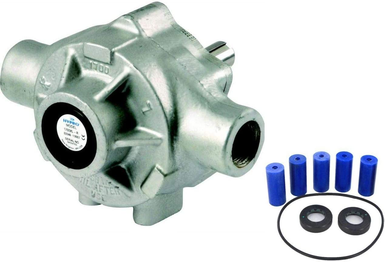 Hypro 5315C-HRX Piston Pump with 3430-0010PLUS Upgraded Repair Kit Bundle, 2 Items