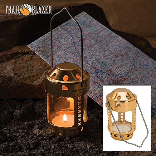 Trailblazer Tealight Candle Lantern (Candles Lanterns For Brass)