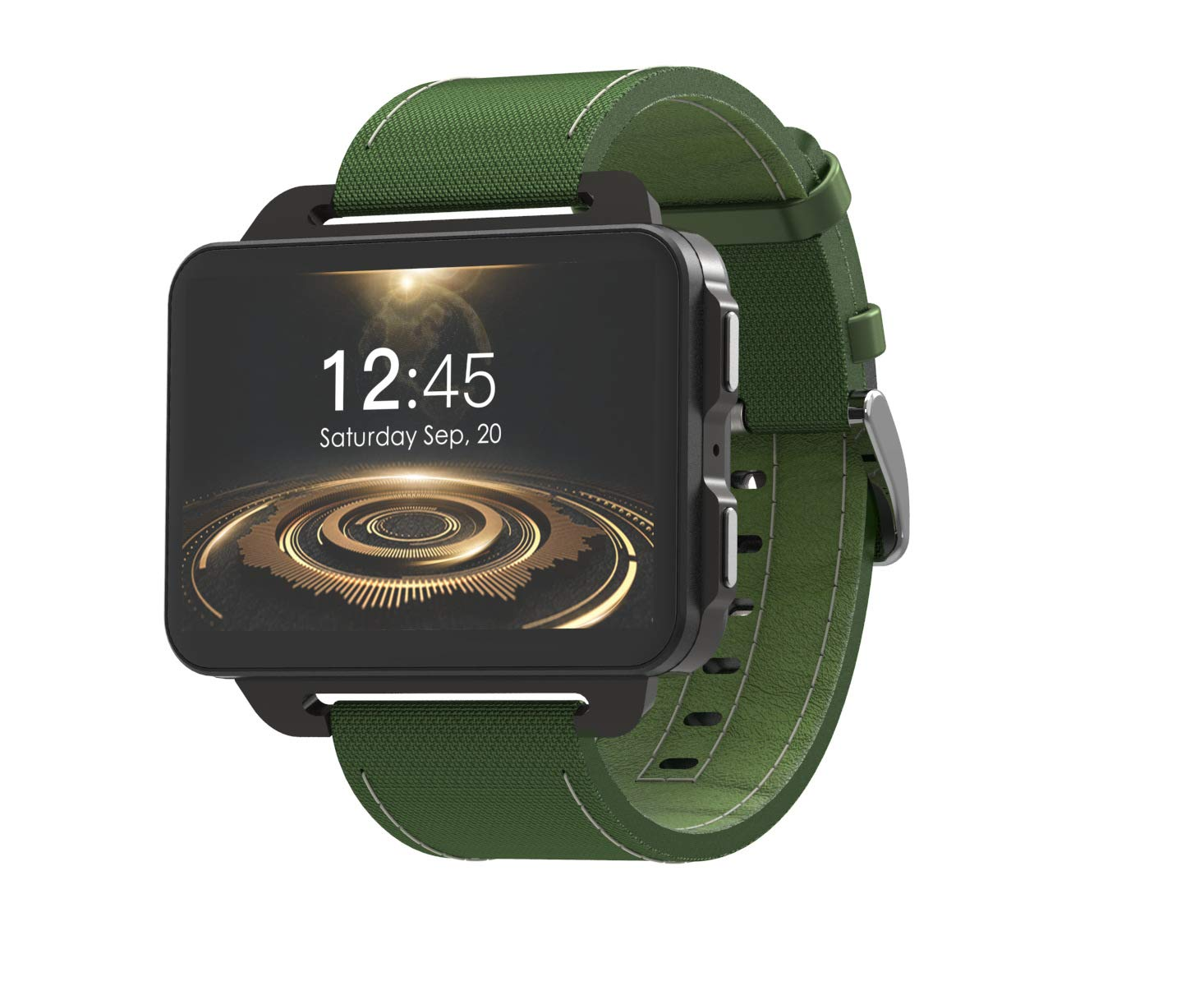 RONSHIN Gifts for Boys,Smart 3G Phone Watch GPS+WiFi Positioning DM99 Android Phone Watch for Adult and Kids Green by RONSHIN