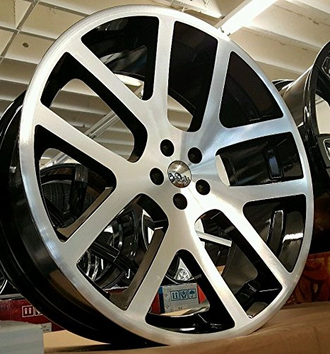 "Dodge Ram With 22 Inch Rims >> 24"" INCH SRT-10 VIPER LIKE WHEELS & TIRES FIT DODGE CHARGER CHALLENGER CHRYSLER - Buy Online in ..."