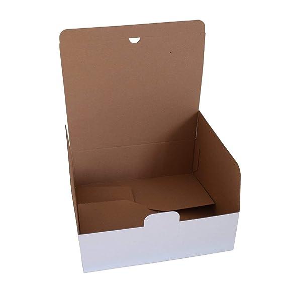 100 unidades DHL UPS DPD cartón 270 x 235 x 95 mm de color ...