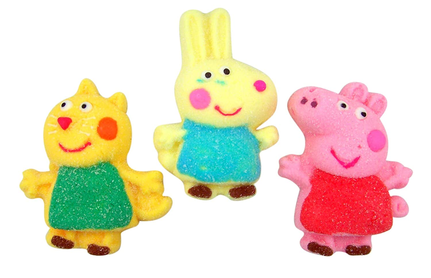Amazon Com Peppa Pig And Friends Character Marshmallows Pack Of 3