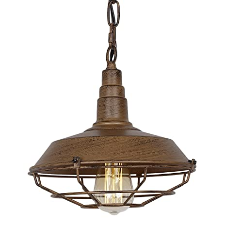 Amazon.com: Eumyviv P0009 1-Light Industrial Vintage Metal Pendant ...