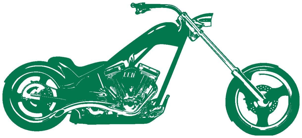 Samunshi® Wandtattoo Chopper Wandaufkleber in 10 Größen Größen Größen und 19 Farben (120x54cm schwarz) B013EKQOT8 Wandtattoos & Wandbilder 3eda8e