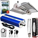 YieldLab Horticulture 1000w HPS Grow Light Cool Tube Hood Reflector Kit Easy Setup Full Spectrum System For Indoor Plants And Hydroponics – Free Timer and 12 Week Grow Guide DVD