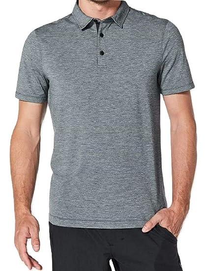 75888d725 Lululemon Mens Evolution Polo Short Sleeve Shirt  Amazon.ca  Home   Kitchen