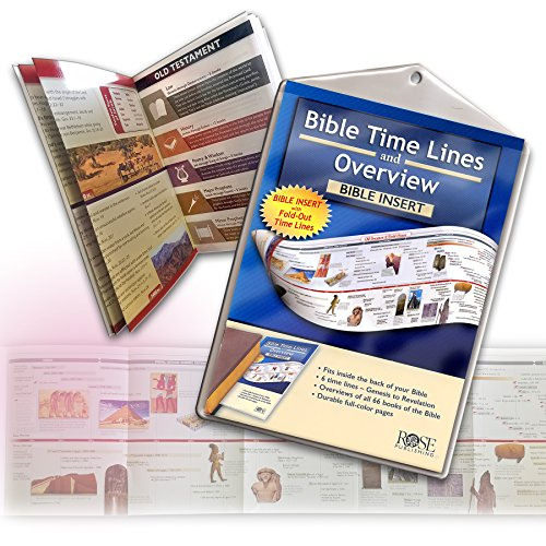 Bible Time Lines and Overview Bible Insert (Ultra-Slim Bible Tools)