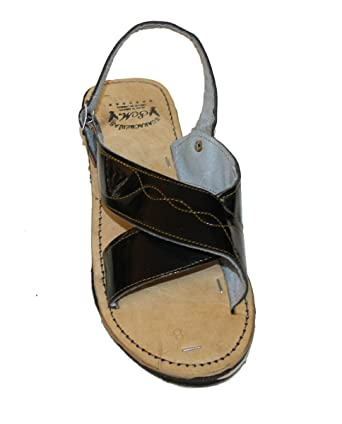 5f85d6a6f2c7 MEXICAN SANDALS Men s Genuine Leather Quality Handmade Sandals Black 13