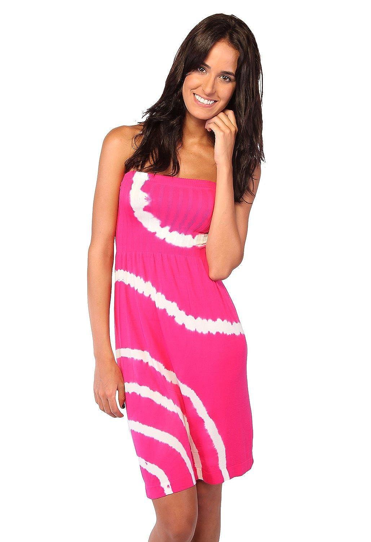 Ingear Tie Dye Tube Dress I09CS004-BLK-OS