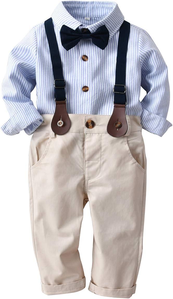 Haokaini conjunto de trajes de caballero para bebés conjunto de ...