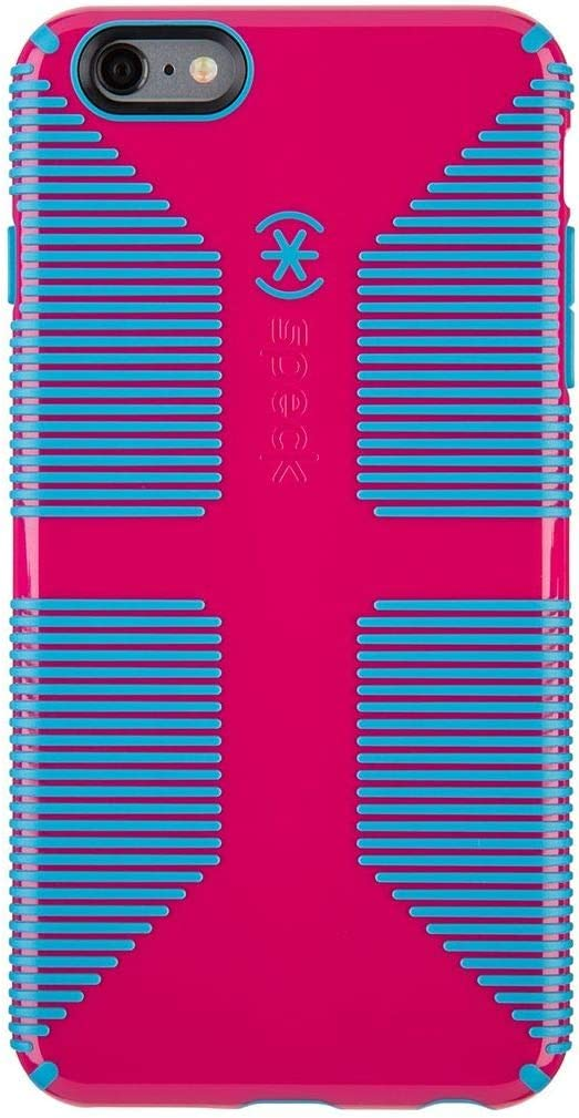 Speck Candyshell Grip for iPhone(R) 6 Plus, Liptstick Pink/Jay Blue