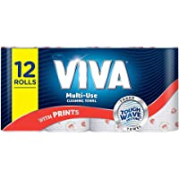 Viva Paper Towel, Printed (Pack of 12)