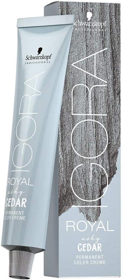 Schwarzkopf Igora Royal Raw Essent Ashy Cedar 60 ml, Color 7-21