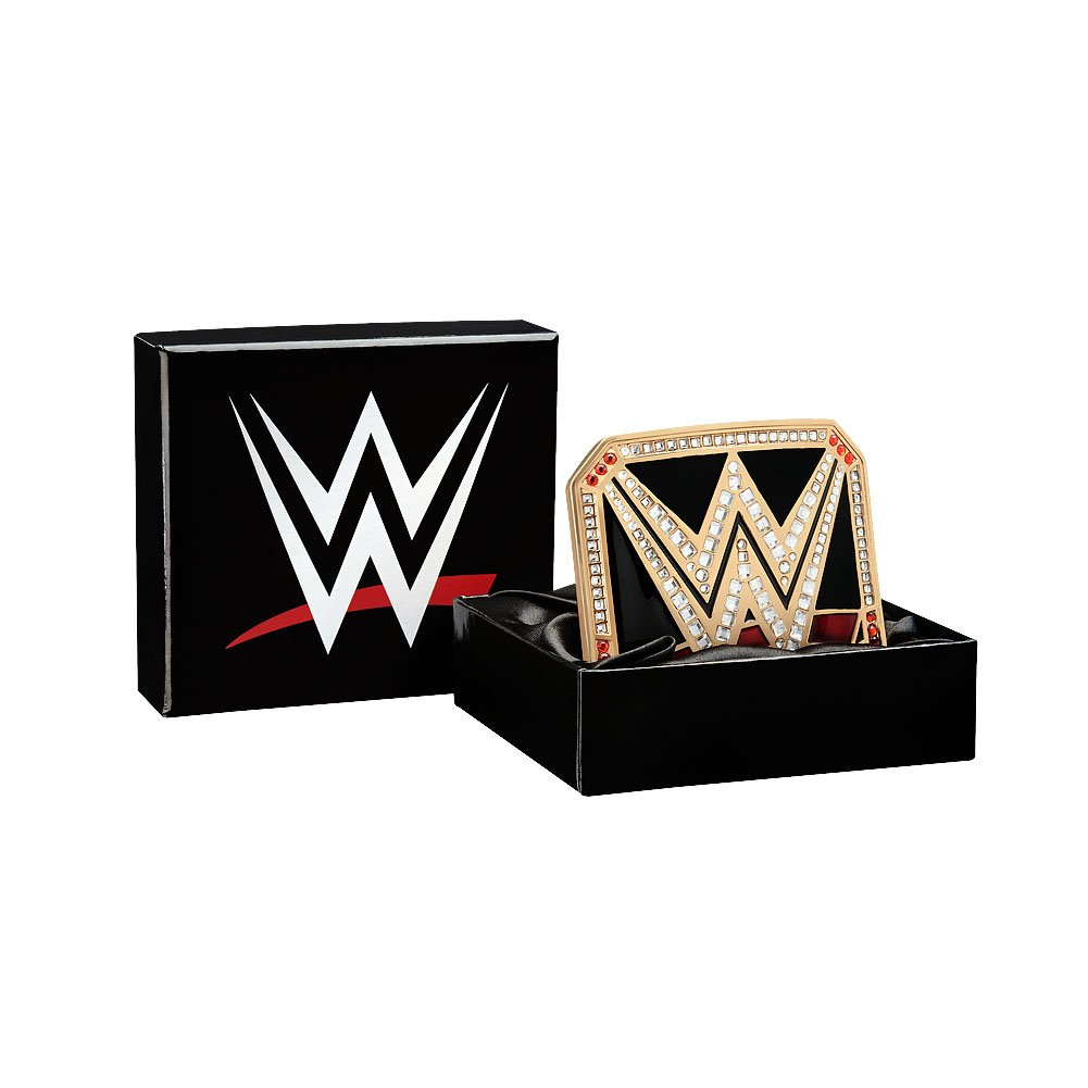 WWE World Heavyweight Championship Belt Buckle Gold by WWE Authentic Wear