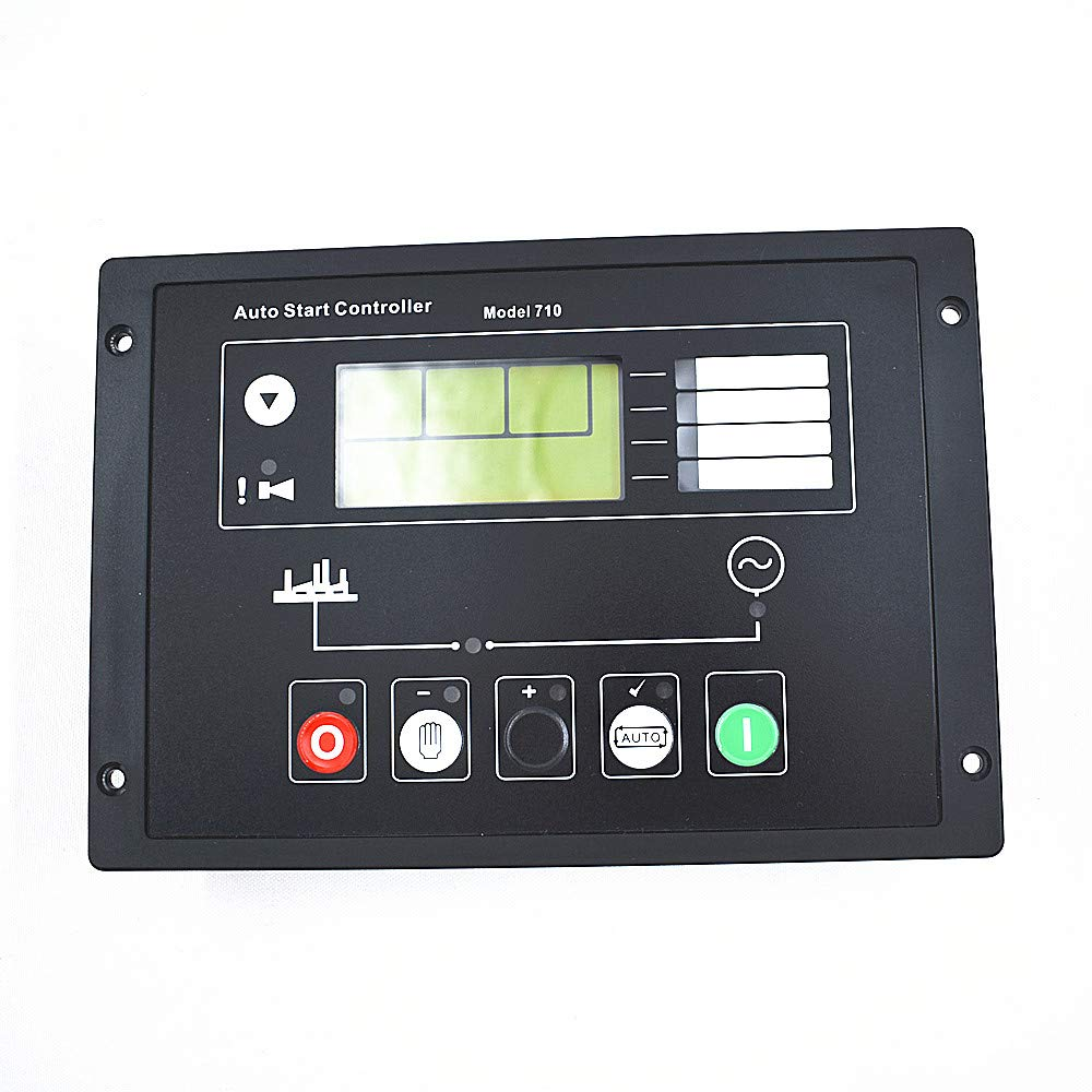 eTekGo Generator Auto Start Control Panel DSE710 for Deep Sea Electronics Spare Parts with Instructions