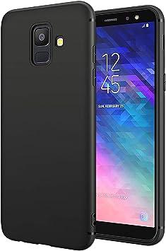 EIISSION Funda Compatible con Samsung Galaxy A6 2018, TPU Silicona ...