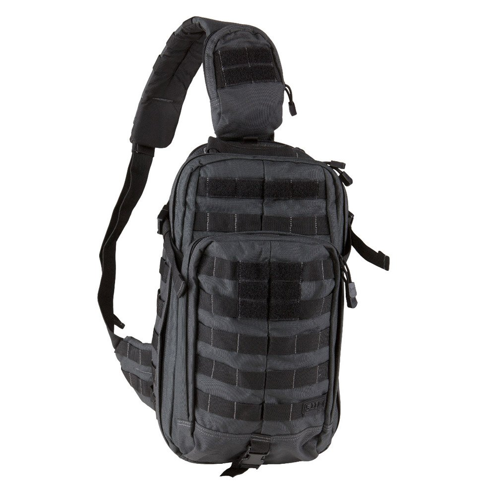 5.11 RUSH MOAB 10 Tactical Sling Bag Shoulder Pack Military Backpack, Style 56964, Double Tap