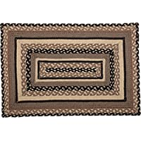 VHC Brands 45742 Bleached White Farmhouse Country Flooring Sawyer Mill Jute Rug, 20x30 Rectangle, Unique