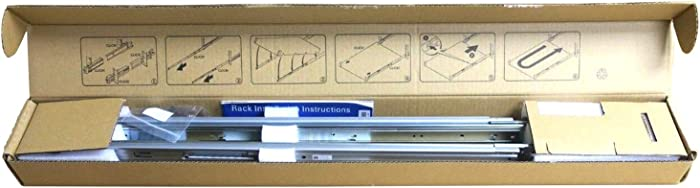 Dell PowerEdge R320, R420, R620, R330, R430, R630, R640 1U Ready Rail Kit - 81WCD