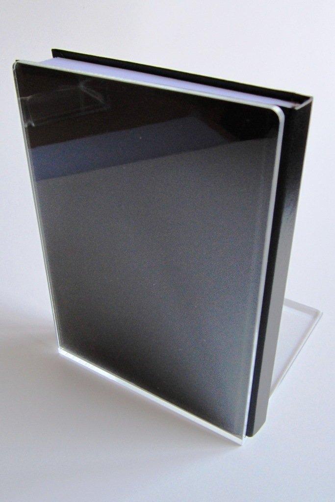12 x 12 x 17 cm VE=2 St/ück LE-ONs/® Buchst/ützen aus Acryl klar