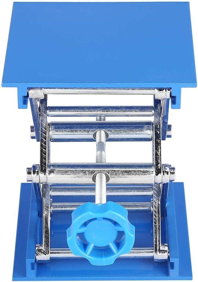 100mm Lab Lifting Platform Aluminium Oxide Laboratory Lifts Platform Stand MAGT Lab Lift Lifting Platform 1Pc 100