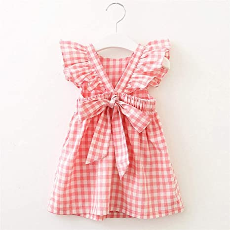 Amazon.com: Princess Girl Dress, Baby Girls Clothes Lattice Ruffles Wedding Birthday Party Princess Dresses Toponly: Appliances