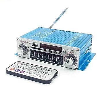 fish Kentiger HY-602 mini altavoz de alta fidelidad estéreo amplificador digital de potencia con