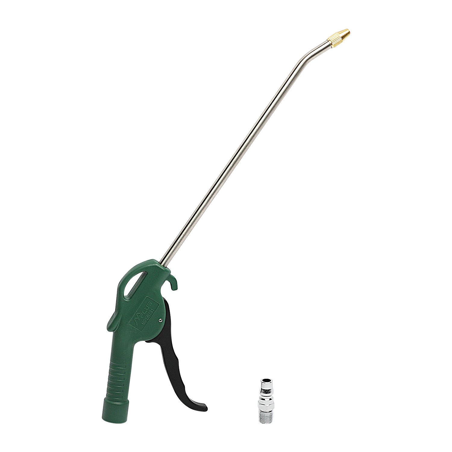 MPLUS 10'' Air Blow Gun w/ Adaptor Brass Tip Powerful Pneumatic  Blowing Dust Gun for Cleaning Debris from a Work Space, Drying Wet Surfaces, Blowing Up Balloons and More by M PLUS