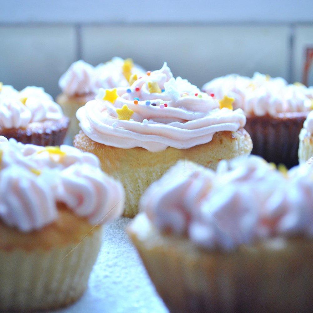 MZCH Non-stick Muffin Pan 4 Cups Cupcake Baking Pans Mini Cake Baking Mold, Black